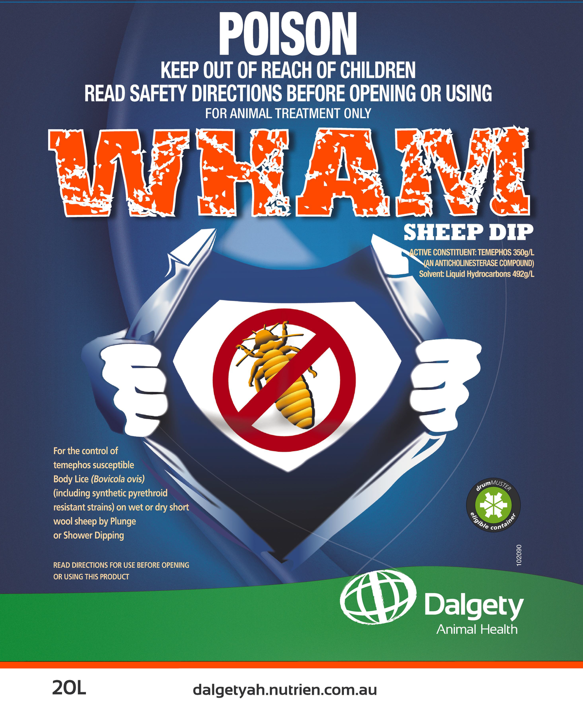 Wham Sheep Dip Dalgety Animal Health